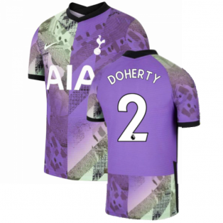 2021-2022 Tottenham Third Vapor Shirt (DOHERTY 2)