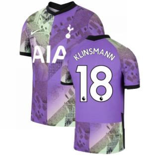 2021-2022 Tottenham Third Vapor Shirt (KLINSMANN 18)