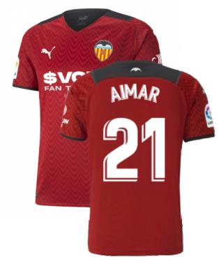 2021-2022 Valencia Away Shirt (AIMAR 21)