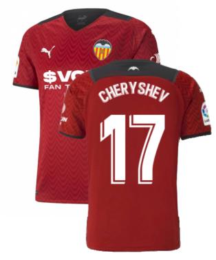 2021-2022 Valencia Away Shirt (CHERYSHEV 17)