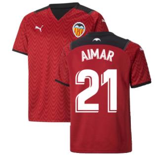 2021-2022 Valencia Away Shirt (Kids) (AIMAR 21)