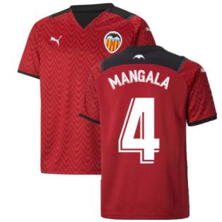 2021-2022 Valencia Away Shirt (Kids) (MANGALA 4)