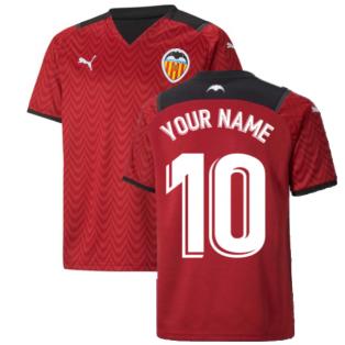 2021-2022 Valencia Away Shirt (Kids) (Your Name)