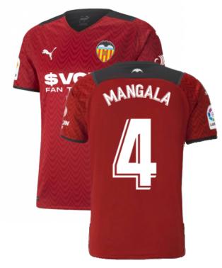 2021-2022 Valencia Away Shirt (MANGALA 4)