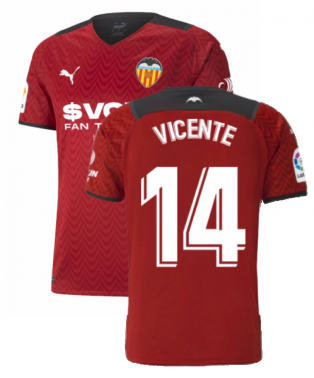 2021-2022 Valencia Away Shirt (VICENTE 14)