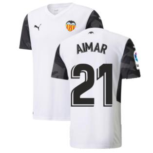 2021-2022 Valencia Home Shirt (AIMAR 21)