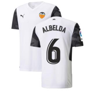 2021-2022 Valencia Home Shirt (ALBELDA 6)