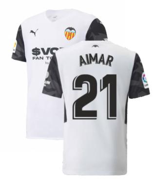 2021-2022 Valencia Home Shirt (Kids) (AIMAR 21)