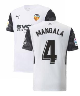 2021-2022 Valencia Home Shirt (Kids) (MANGALA 4)