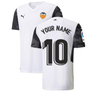 2021-2022 Valencia Home Shirt (Your Name)