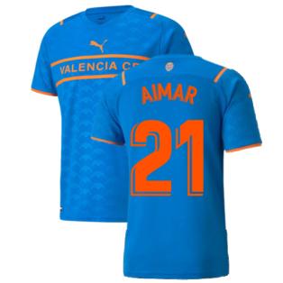 2021-2022 Valencia Third Shirt (AIMAR 21)