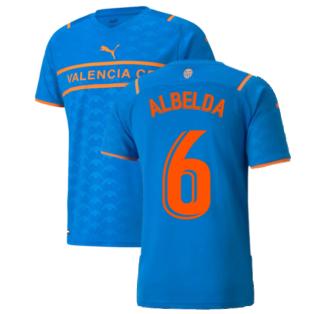 2021-2022 Valencia Third Shirt (ALBELDA 6)