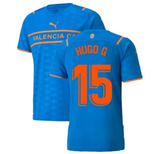 2021-2022 Valencia Third Shirt (HUGO G 15)