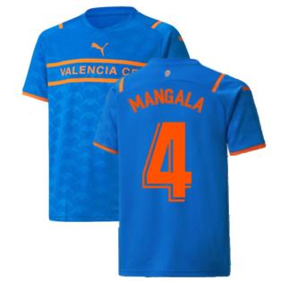 2021-2022 Valencia Third Shirt (Kids) (MANGALA 4)