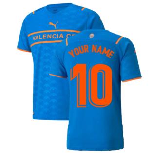 2021-2022 Valencia Third Shirt (Your Name)
