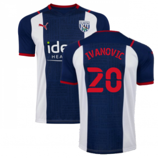 2021-2022 West Bromwich Albion Home Shirt (IVANOVIC 20)