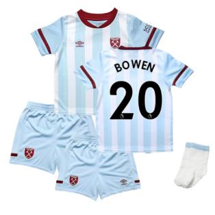 2021-2022 West Ham Away Baby Kit (BOWEN 20)