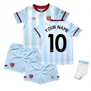 2021-2022 West Ham Away Baby Kit (Your Name)