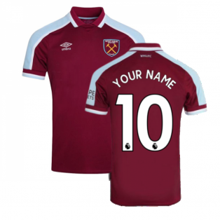 2021-2022 West Ham Home Shirt (Kids) (Your Name)