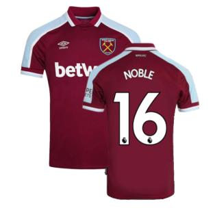 2021-2022 West Ham Home Shirt (NOBLE 16)