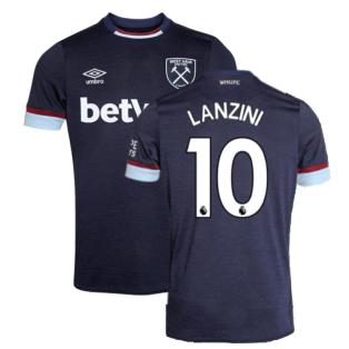 2021-2022 West Ham Third Shirt (LANZINI 10)