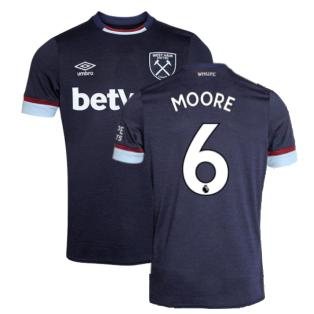 2021-2022 West Ham Third Shirt (MOORE 6)