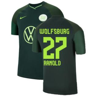2021-2022 Wolfsburg Away Shirt (Kids) (ARNOLD 27)