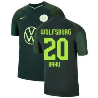2021-2022 Wolfsburg Away Shirt (Kids) (BAKU 20)
