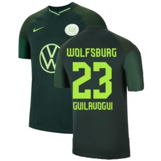 2021-2022 Wolfsburg Away Shirt (Kids) (GUILAVOGUI 23)