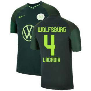 2021-2022 Wolfsburg Away Shirt (Kids) (LACROIX 4)