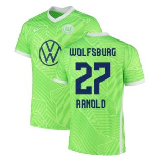 2021-2022 Wolfsburg Home Shirt (ARNOLD 27)