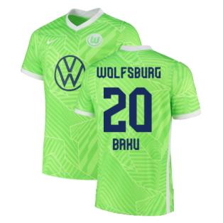 2021-2022 Wolfsburg Home Shirt (BAKU 20)