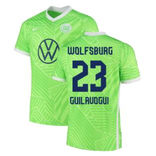 2021-2022 Wolfsburg Home Shirt (GUILAVOGUI 23)