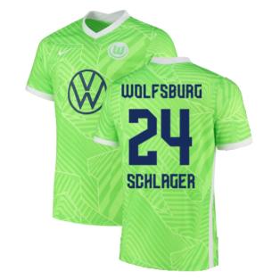2021-2022 Wolfsburg Home Shirt (SCHLAGER 24)