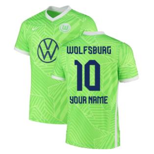 2021-2022 Wolfsburg Home Shirt (Your Name)