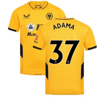 2021-2022 Wolves Home Shirt (ADAMA 37)