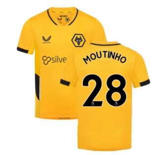2021-2022 Wolves Home Shirt (Kids) (MOUTINHO 28)