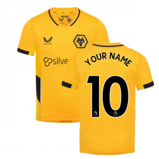 2021-2022 Wolves Home Shirt (Kids) (Your Name)