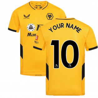 2021-2022 Wolves Home Shirt (Your Name)