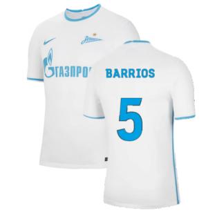 2021-2022 Zenit Away Shirt (BARRIOS 5)