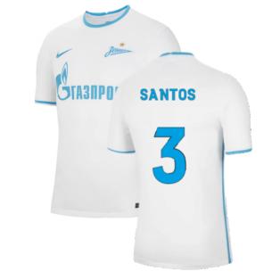 2021-2022 Zenit Away Shirt (SANTOS 3)