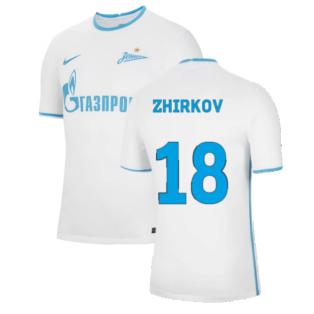 2021-2022 Zenit Away Shirt (ZHIRKOV 18)