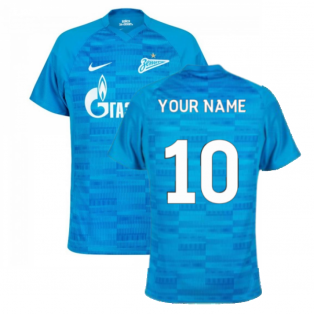 2021-2022 Zenit Home Shirt (Blue) (Your Name)