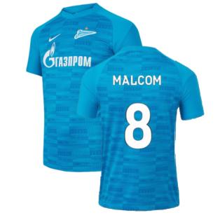 2021-2022 Zenit St Petersburg Home Shirt (Kids) (MALCOM 8)