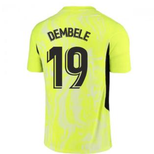2020-2021 Atletico Madrid Vapor Third Shirt (DEMBELE 19)