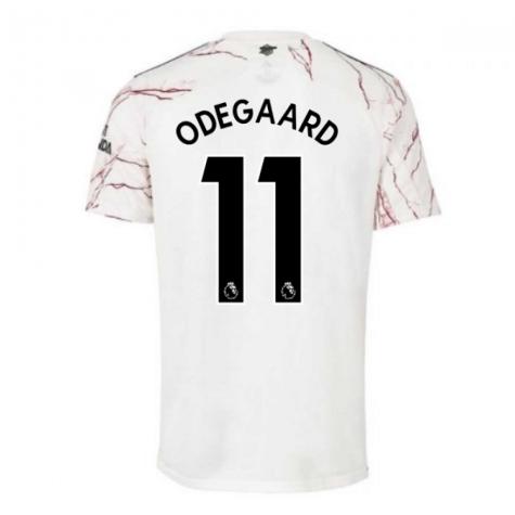 2020-2021 Arsenal Adidas Away Football Shirt (ODEGAARD 11)