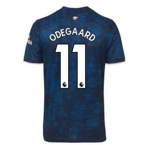 2020-2021 Arsenal Adidas Third Football Shirt (Kids) (ODEGAARD 11)