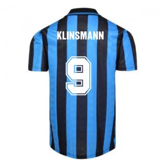 Internazionale 1992 Home Shirt (Klinsmann 9)