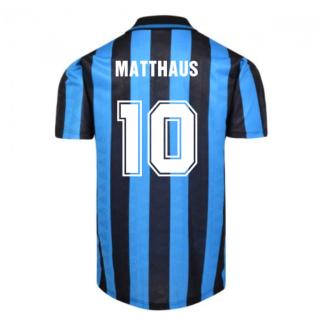Internazionale 1992 Home Shirt (Matthaus 10)