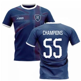 2020-2021 Glasgow Home Concept Football Shirt (Champions 55)